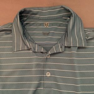 Nike Golf button down collar